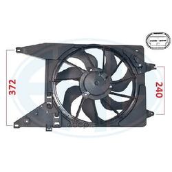 Вентилятор охлаждение двигателя (Era) 352103