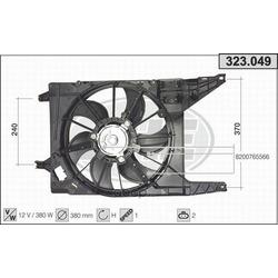 Вентилятор охлаждение двигателя (AHE) 323049
