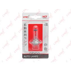 Лампа галогенная в блистере 1шт. (LYNXauto) L1075501