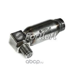 Обманка датчика кислорода угловая с дополнительным мини катализатором (FortLuft) 000300