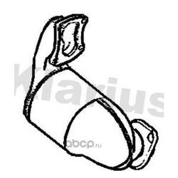 Катализатор (KLARIUS) 323531