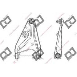 Рычаг независимой подвески колеса (DJPARTS) DA1517