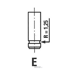 Впускной клапан (Wilmink Group) WG1052999