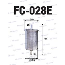 """Фильтр топливный renault logan 1.4/1.6, sandero1.2-1.6, megane, kangoo, scenic, clio 1.2-3.0 """"rb-exide (Rb-exide) FC028E"""