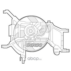 Вентилятор радиатора (Denso) DER37002