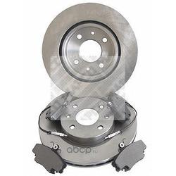 Комплект тормозов, дисковый тормозной механизм (Mapco) 47159