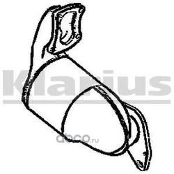 Катализатор (KLARIUS) 322081