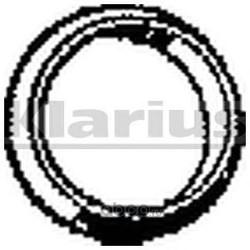 Прокладка, труба выхлопного газа (KLARIUS) 410486