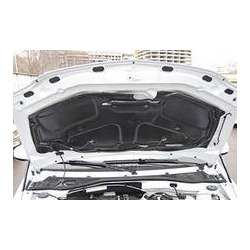 Шумоизоляция-утеплитель капота с крепежем Renault Logan (Войлок черный) (Renault Trucks) 658404860R