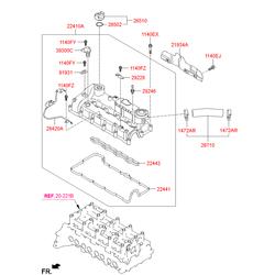 Болт m6 (Hyundai-KIA) 1140306456K