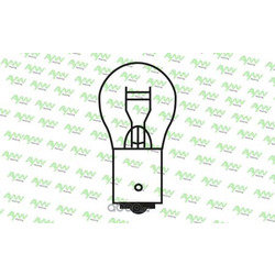 Лампа накаливания p21w s25 12v 21w (AYWIparts) AW1920002