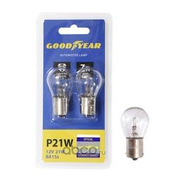 Лампа накаливания автомобильная p21w 12v 21w (GOODYEAR) GY012222