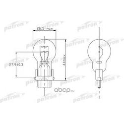 Лампа накаливания (PATRON) PLP277W