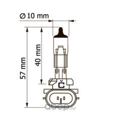 Автолампа н27/2 4007/2 fn 12v 27w (Celen) 40072FN