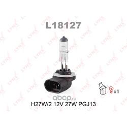 Лампа h27w/2 881 12v 27w (LYNX auto) L18127