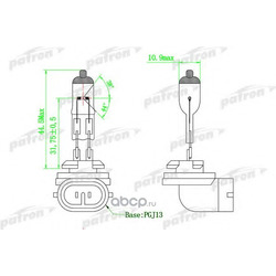 Лампа галогенная (PATRON) PLH27W2