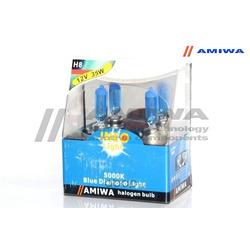 "Лампа накаливания, ""blue diamond light h8"" 12в 35вт 2шт (AMIWA) 2XINEOH81235"