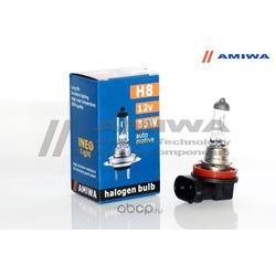 """Лампа накаливания, """"ineo h8"""" 12в 35вт (AMIWA) AMWH81235"""