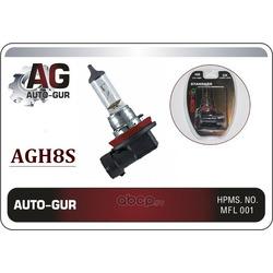Лампа h8 standard long life 12v / 55w / pgj19-1 (Auto-GUR) AGH8S
