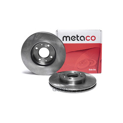 Диск тормозной передний вентилируемый (METACO) 3050015