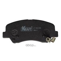 Колодки тормозные (Kraft) KT091395