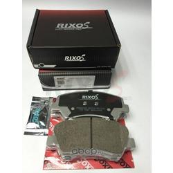 Колодка тормозная дисковая передние (RIXOS) MD8681MS