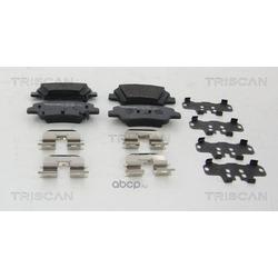 Комплект тормозных колодок (TRISCAN) 811043044