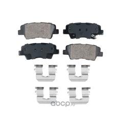 Колодки тормозные дисковые задние,керамика (Friction Master) CMX1313