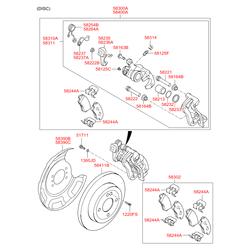 Тормозной барабан (Hyundai-KIA) 584110U000