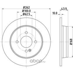 Тормозной диск (DON) PCD13572