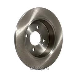 Диск тормозной задний d=262mm (GANZ) GIJ06001