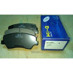 Колодки тормозные дисковые передние (комплект) (Sangsin brake) SP1400