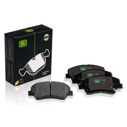 Колодки тормозные дисковые передние (Trialli) PF0808