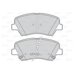 Колодки тормозные передние (Valeo) 302139