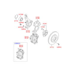 Сальник тормозного цилиндра (Hyundai-KIA) 5811324000