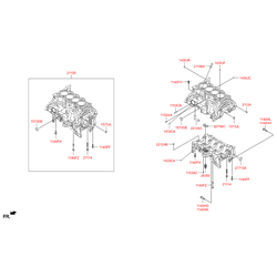 Шпилька блока цилиндров м10 (Hyundai-KIA) 1151308226K