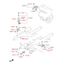 Шпилька м8 (Hyundai-KIA) 2167126001