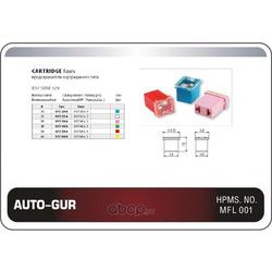 Предохранитель силовой 30а розовый катридж mini (Auto-GUR) AGFJ1730A