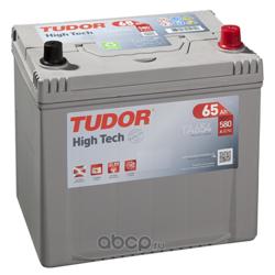 Аккумулятор tudor high-tech 65 а/ч ta654 выс обр. 230x173x222 en 580 (TUDOR) TA654