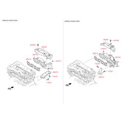 Гайка м40 (Hyundai-KIA) 1022608007K