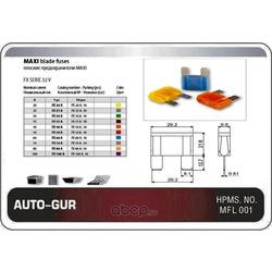 Предохранитель флажковый maxi 25a серый (евро стандарт) (Auto-GUR) AGFX25A