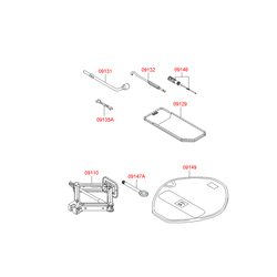 Крюк буксира (Hyundai-KIA) 091471C050