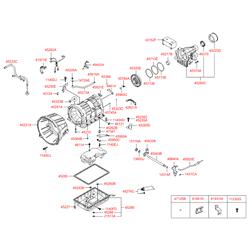 Шланг вентиляции картера двигателя (Hyundai-KIA) 452734C000