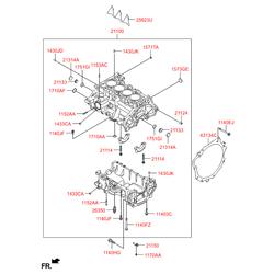 Втулка металлическая (Hyundai-KIA) 1430308180