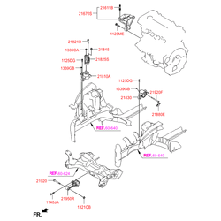 Кронштейн двигателя (Hyundai-KIA) 218301R050