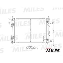 Радиатор (Miles) ACRB027