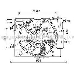 Вентилятор (Ava) HY7541