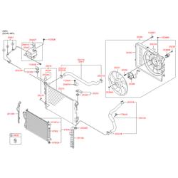 Наклейка с технической информацией (Hyundai-KIA) 253881H000