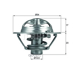 Термостат (Mahle/Knecht) TX11882D