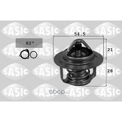 Термостат, охлаждающая жидкость (Sasic) 3304013